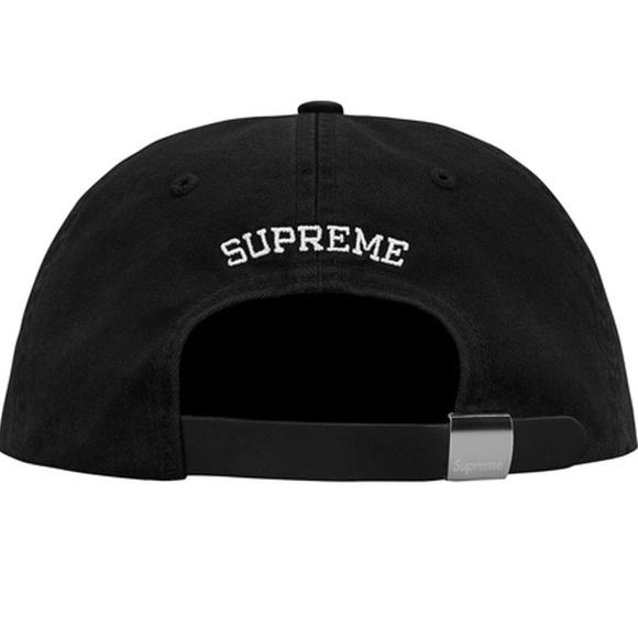 Supreme S logo felt cap (SS18). M 5a9767d005f430db82d5ff9f 36332410c08